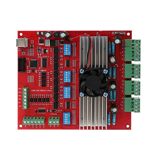 100 Khz Breakout Board 4 Achsen Interface Driver Motion Controller ()