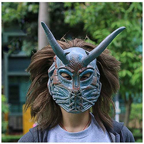 YaPin 2018 Marvel Film Panther Bösewicht Maske Haube Eric Leopard Halloween Maske Film Requisiten