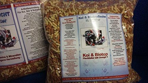 Teichsticks Mix Fischfutter Koifutter Teichfutter 2 x 5 Liter 2 x 625 gr. Beute