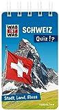 WAS IST WAS Quiz Schweiz: Über 100 Fragen und Antworten! Mit Spielanleitung und Punktewertung (WAS IST WAS Quizblöcke) -
