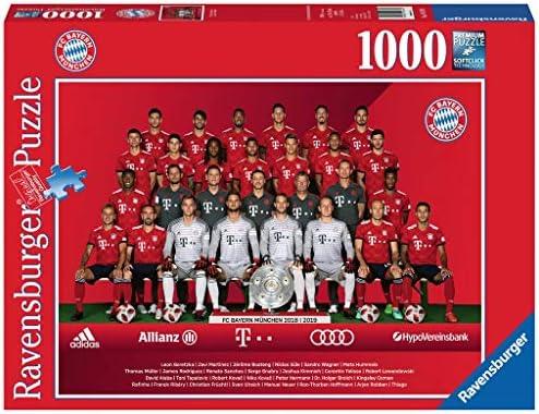 Ravensburger Adultes Puzzle 19879 FC Bayern Saison 2018/19, Puzzle   Coût Modéré