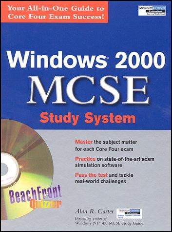 Windows 2000 MCSE Study System por Alan R. Carter
