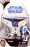 R2-D2 with hidden Gadgets CW No.8 - Star Wars The Clone Wars 2008 von Hasbro
