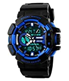 Skmei Analogue-Digital Black Dial Boy's ...