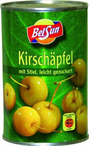 Kirschäpfel mit Stiel, 4er Pack (4 x 425 g Packung)