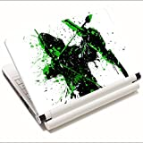 #9: Shopmania Designer Stickers 15.6 inch- Laptop skin-High Quality Vinyl for Dell-Lenovo-Asus-Acer-HP-Apple-Samsung