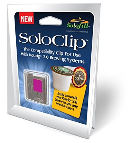 Keurig-system (SoloClip, The compatibility clip for use with Keurig(R) 2.0 brewing systems)