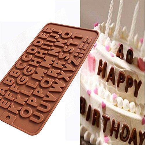Shjnhan Silikonform für Schokolade, Kuchen, Kekse, Süßigkeiten, Eiswürfel