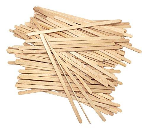 Einweg Birchwood Tee Holz Kaffee Stir Sticks Rührlöffel 190mm 100pcs