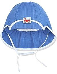 Sterntaler Baby-Jungen Mütze Schirmmütze M. Nackenschutz-1601730