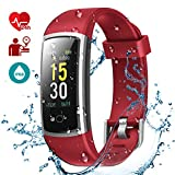 LATEC Montre Connectée, Fitness Tracker Podometre Smartwatch Bracelet Connecté IP68...