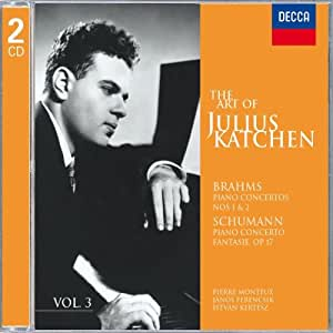 Brahms - Concertos pour piano n° 1 et 2 / Schumann - Concerto pour piano / Fantaisie op.17