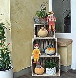Deko Vogel Gartenfiguren für Garten Balkon oder Terrasse (Auswahl D)