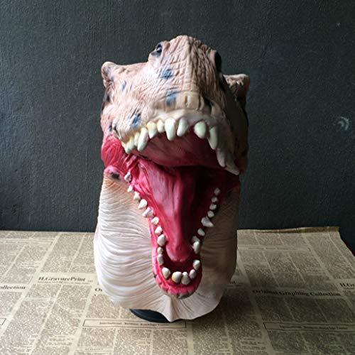 Unbekannt Maske Cosplay Kostüm Halloween Horror Maske Spoof Horror Latex Kopf Set Tricks ()