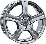 Autec - Cerchioni IONIK 6.0x15 ET40 4x100 SIL per Chevrolet Aveo Kalos Spark