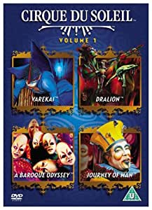 Cirque Du Soleil - 4-title pack - Dralion/Varekei/Journey Of Man/A Baroque Odyssey [DVD]