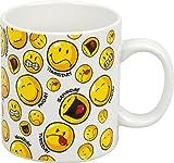 Tasse Becher Kaffeetasse Henkelbecher Smiley Weekdays