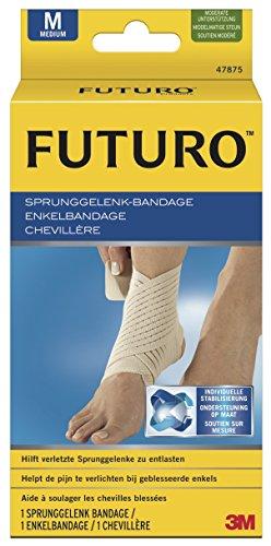 Bandage in Größe S - L, Sport Bandage für Fuß, Knöchel, Sprunggelenk (Futuro Sport Sprunggelenk-bandage)