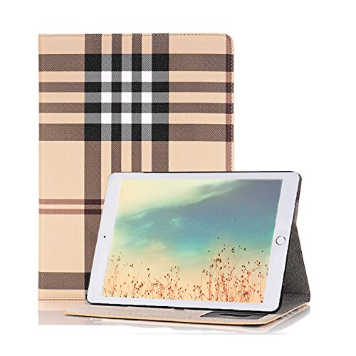 iPad Pro 12.9 Case,elecfan® Kartenfächer Bookstyle Folio Kasten Abdeckung Standplatz magnetisches PU Leder Fall Abdeckung Hülle mit Smart Auto Sleep / Wake Feature für iPad Pro 12,9 Zoll (iPad Pro 12.9, A02)