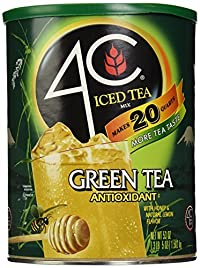 4C Iced Tea Mix, Green, 53 oz