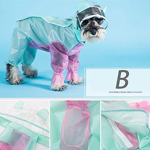 QHorse Hundebekleidung Hosen Hund Regenmantel Kostüm Breit Hut Krempe Haustier Liefert Wear Resistant Werken Schnitt Mode Frühling Wasserfest Umweltfreundlich Langlebig Druckknopf - Schnitt Kostüm