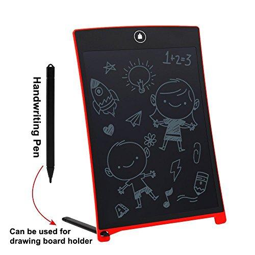 8,5 Zoll LCD-Tablette LCD Schreiben Tabletten, Geeignet für Zeichnung und Schriftlich Brett Quick Note Pad Nützlich Bei der Office Great Geschenk für Kids Doodle Red (Papier Schriftlich Board)