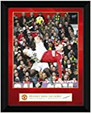 GB Eye Framed Photograph, Manchester United, Rooney Derby Goal, 8x6-inch