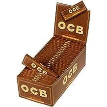 OCB Virgin Slim - Papel de fumar, 50 cajas x 25 hojas