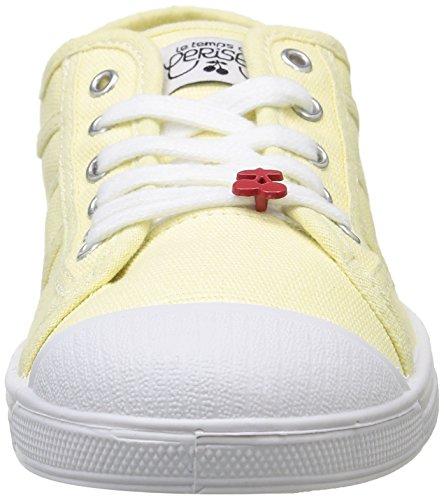 Le Temps des Cerises Ltc Basic 02, Damen Sneaker Gelb - Jaune (Limoncelo)