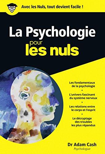La psychologie pour les nuls par Adam Cash
