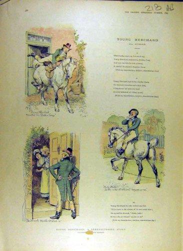1895 Drucken (1895 Drucken Junge-Herchand Geschichte Somersetshire Thomson)