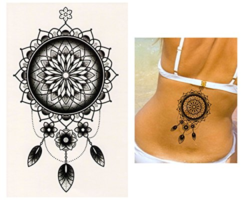 Tatuajes temporales Tempo rary Tattoo Fake Tattoo – Mandala de