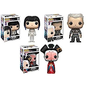 Funko POP Ghost In The Shell Major Batou Geisha Stylized Vinyl Figure Set NEW