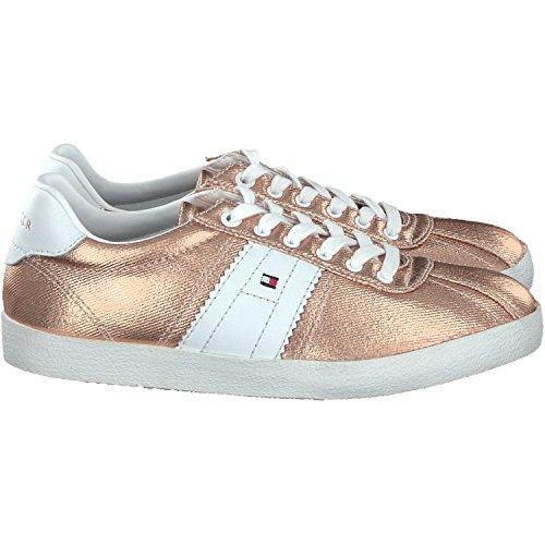 Tommy Hilfiger Damen L1285izzie 1d1 Sneakers Rose