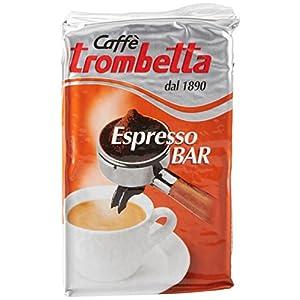 Caffè Trombetta, Caffè Macinato, Espresso - 10x250g (Totale 2500g)
