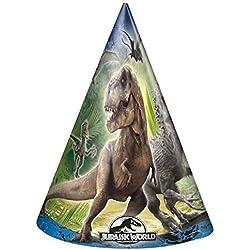 Cono de Jurassic world Party Hats X 8
