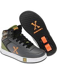 Sidewalk Deporte Ninos Hi Top Junior Chico Skate Zapatos Zapatillas Calzado
