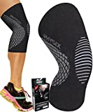 Knee Support Compression Sleeve for Men & Women, Best Support Brace for Sports
