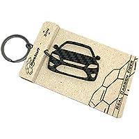 Llavero de Fibra de Carbono Ford Mondeo ST MK4 Cadena de Claves