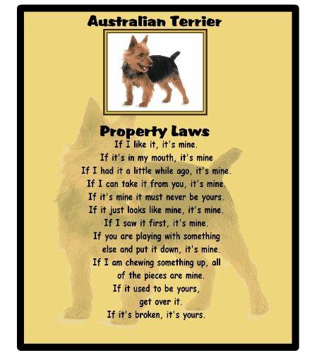 Australian Terrier – Property Laws – Mouse mat