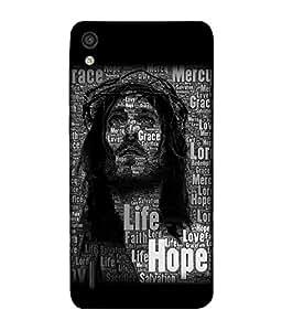 Fuson Designer Back Case Cover for Huawei Ascend P7 (Jesus Church Etymology Emmanuel Christ)