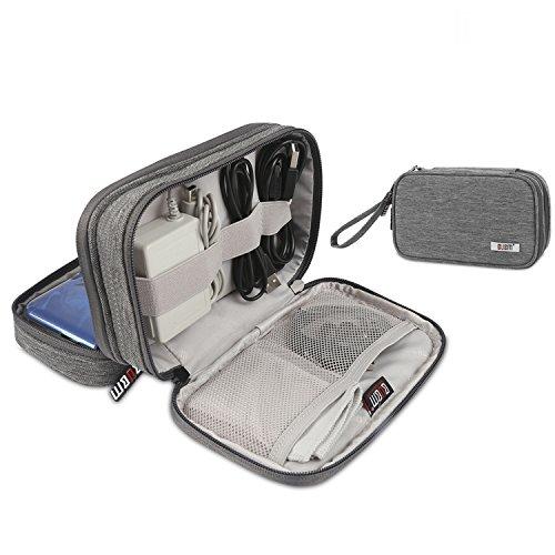 Nintendo 3DS Tasche Schutzhülle Game Card Schutzhülle Zubehörsets Tragetasche Aufbewahrungstasche für Neu Nintendo New 3DS LL & 3DS XL (Grau)