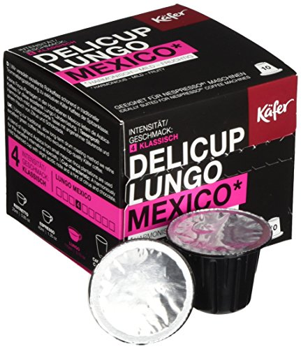Käfer Delicup Lungo Mexico, 10er Pack  (10 x 52 g)