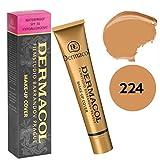 #10: Dermacol Make-Up Cover Foundation NR 224