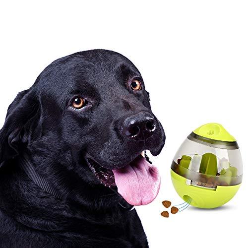 STAJOY - Palla giocattolo per cani e gatti, con erogatore di cibo, design interattivo per cani e gatti: Aumenta il QI e la stimolazione mentale