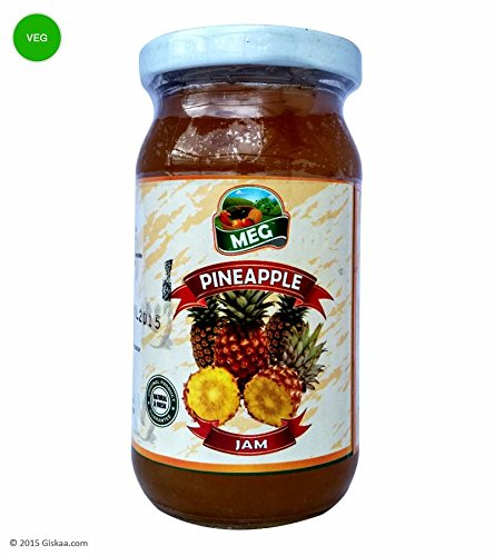 Giskaa Fresh Pickled & Delicious Lip-smacking Pineapple Jam - 250 G From Meghalaya (north-east India)