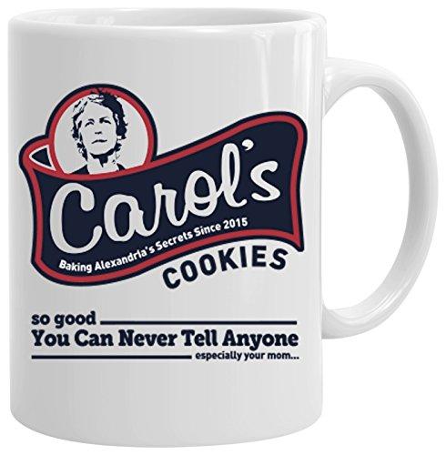 6TN Carol 's Cookies Bedruckte - Cookies Wanderer