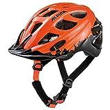 Alpina Unisex Jugend Rocky Fahrradhelm, orange-Black, 47-52 cm