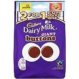 Cadbury Dairy Milk Giant Buttons Chocolate Bag, 119g