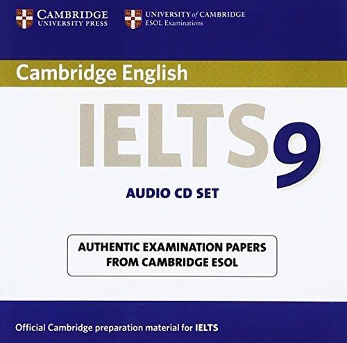 Cambridge IELTS 9 Audio CDs (2) (IELTS Practice Tests)